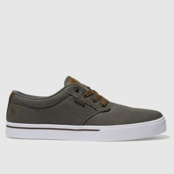 Etnies Khaki Jameson 2 Eco Mens Trainers
