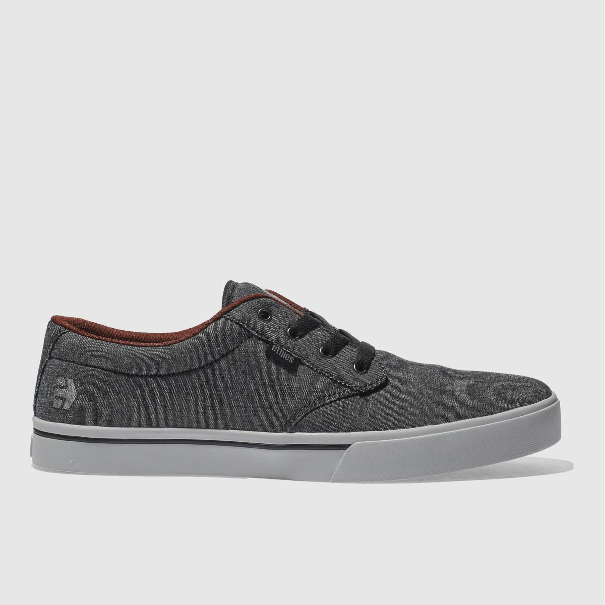 Etnies Etnies Black & Grey Jameson 2 Eco Trainers