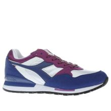 Diadora Navy & White Intrepid Mens Trainers
