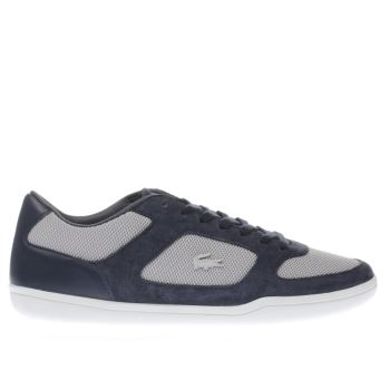 Lacoste Navy Court Minimal 117 Mens Trainers