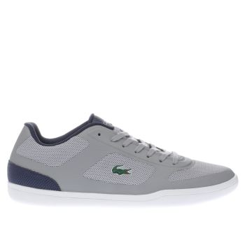 Lacoste Grey Court Minimal Mens Trainers