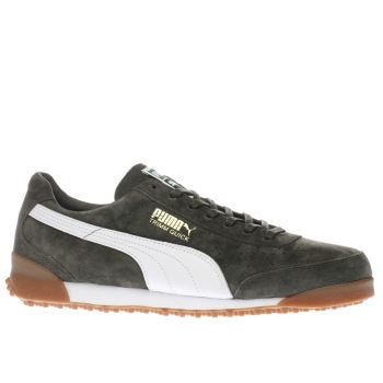 Puma Khaki Trimm Quick Mens Trainers