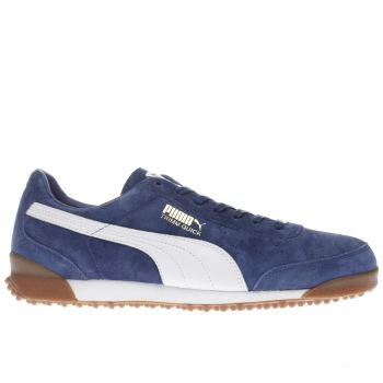Puma Blue Trimm Quick Trainers