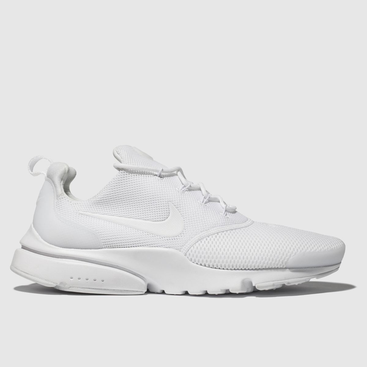 Nike White Presto Fly Trainers