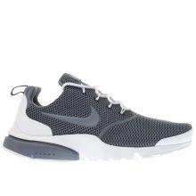 Nike White & Blue Presto Fly Mens Trainers