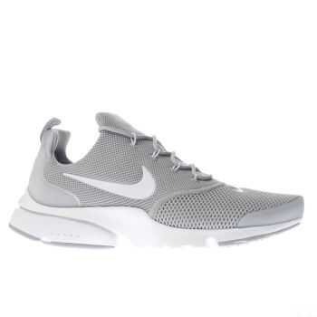 Nike Grey Presto Fly Trainers
