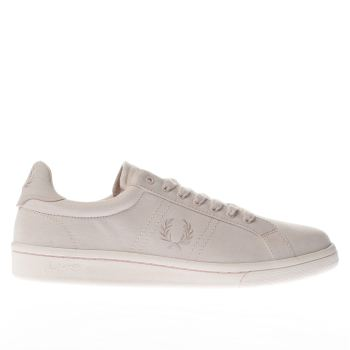 Fred Perry Pale Pink B721 Trainers