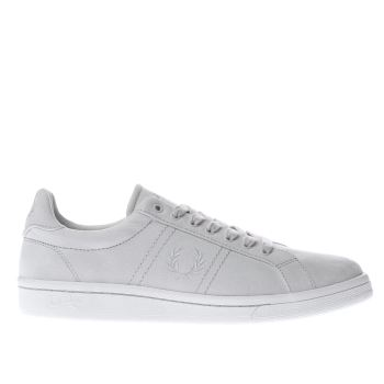 Fred Perry Grey B721 Mens Trainers