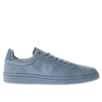 Fred Perry Teal B721 Trainers