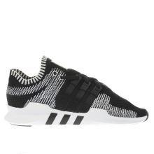 Adidas Black & White Eqt Support Adv Primeknit Mens Trainers