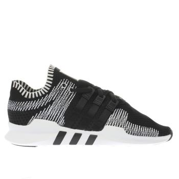 Adidas Black Eqt Support Adv Primeknit Mens Trainers