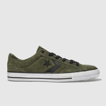 Converse Khaki Star Player Ox Mens Trainers