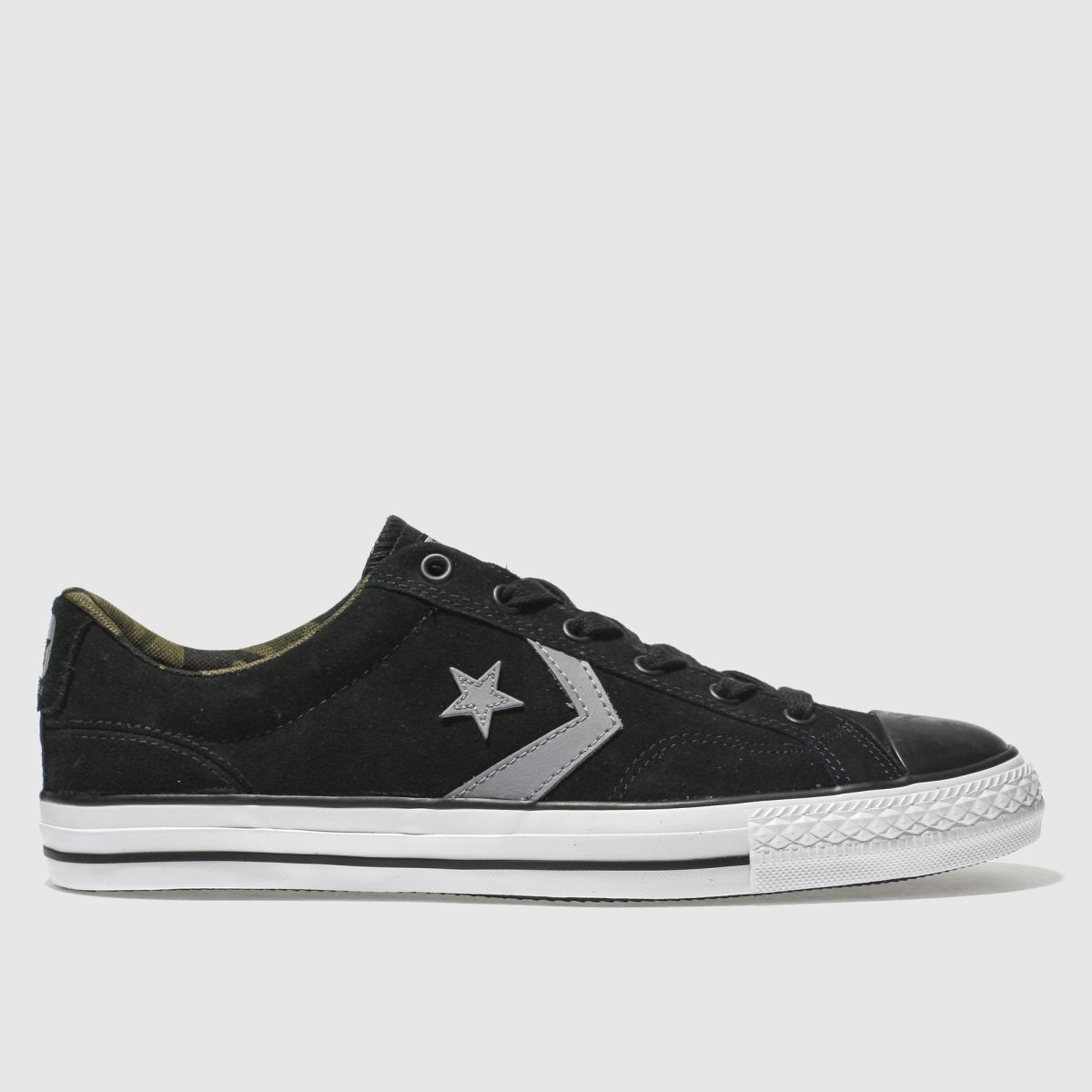 Converse Black & Grey Star Player Ox Trainers