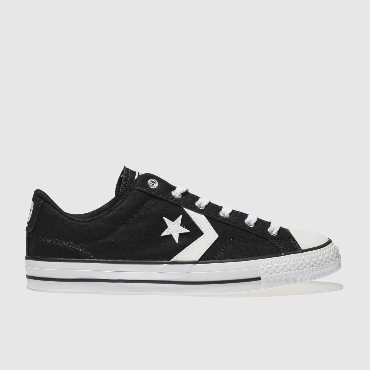 Converse Black & White Star Player Ox Trainers
