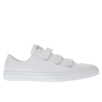 Converse White Chuck Taylor All Star Ox 3V Mens Trainers