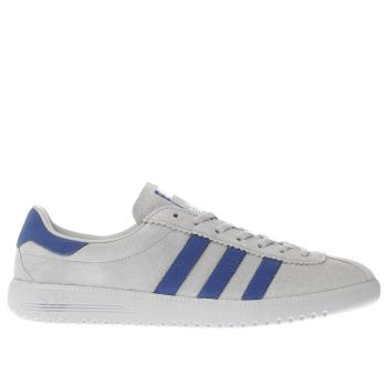 Adidas Grey Bermuda Mens Trainers
