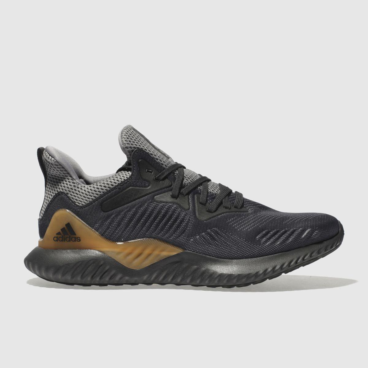Adidas Dark Grey Alphabounce Trainers