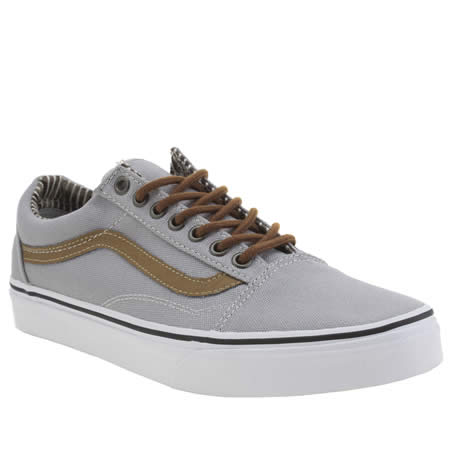 vans old skool grey and brown