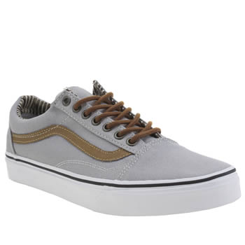 Vans Light Grey Old Skool Trainers