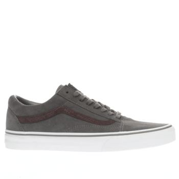 Vans Grey Old Skool Reptile Trainers