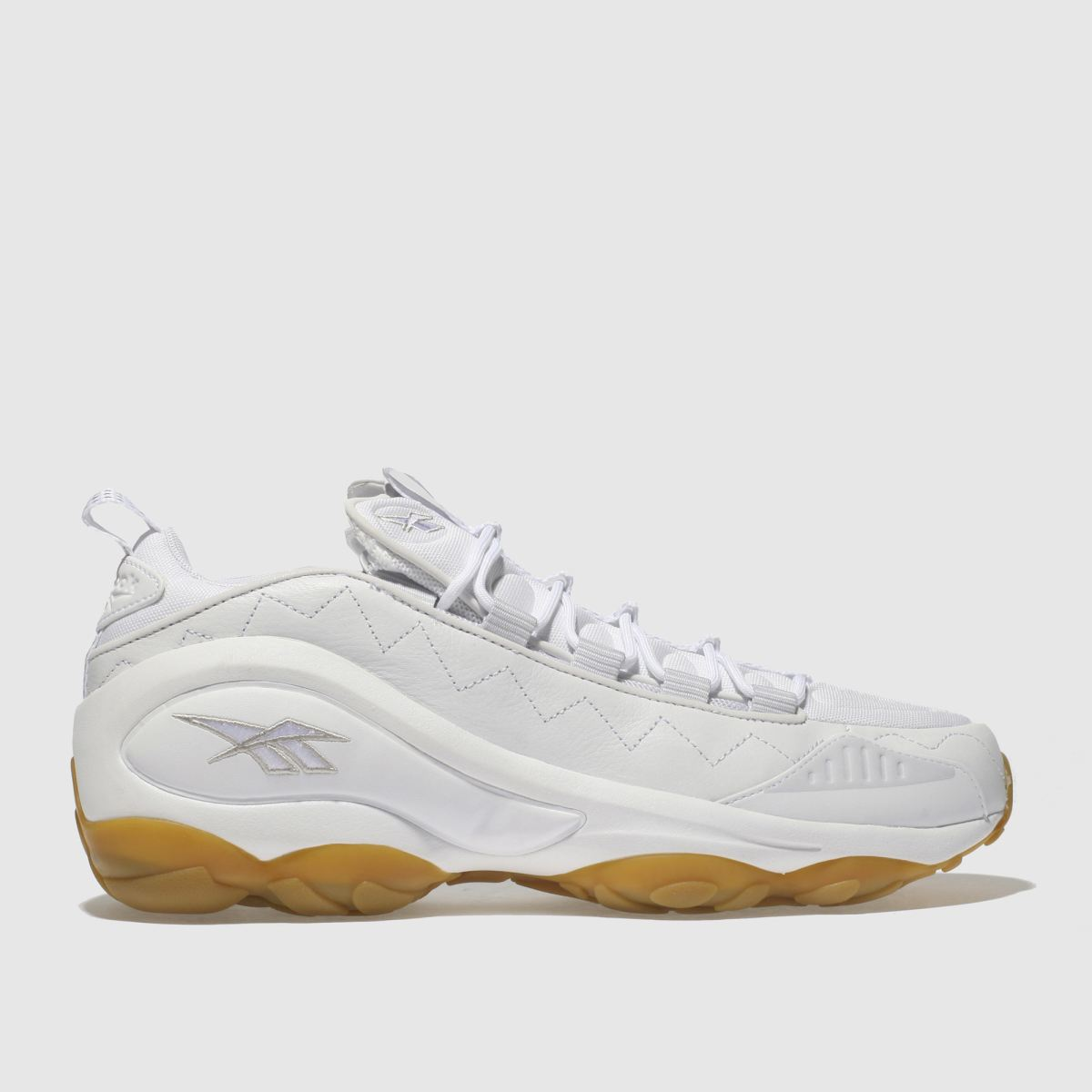 Reebok White Dmx Run 10 Trainers