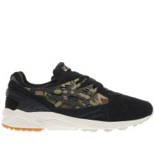 Asics Black & Green Gel-kayano Trainer Mens Trainers