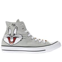 Converse Grey Looney Tunes Bugs Bunny Mens Trainers