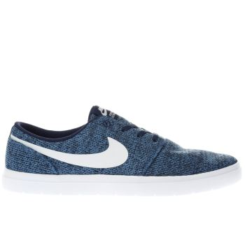 Nike Sb Blue Portmore Ii Ultralight Mens Trainers