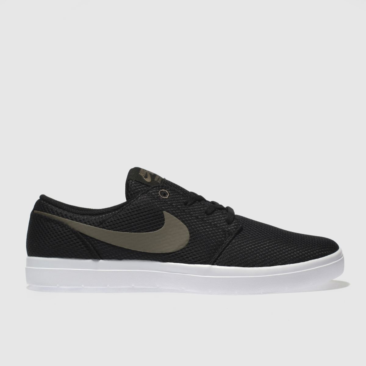 Nike Sb Black Portmore Ii Ultralight Trainers