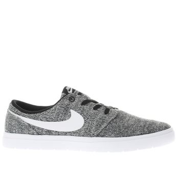 Nike Sb Grey Portmore Ii Ultralight Mens Trainers
