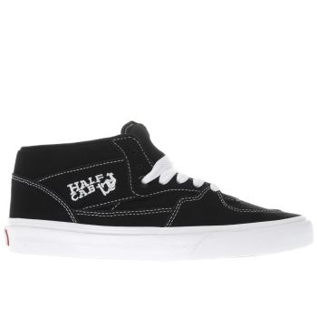 Vans Navy Half Cab Mens Trainers