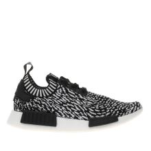 Adidas Black & White Nmd_r1 Prime Knit Mens Trainers
