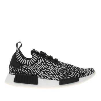 Adidas Black Nmd_R1 Prime Knit Mens Trainers