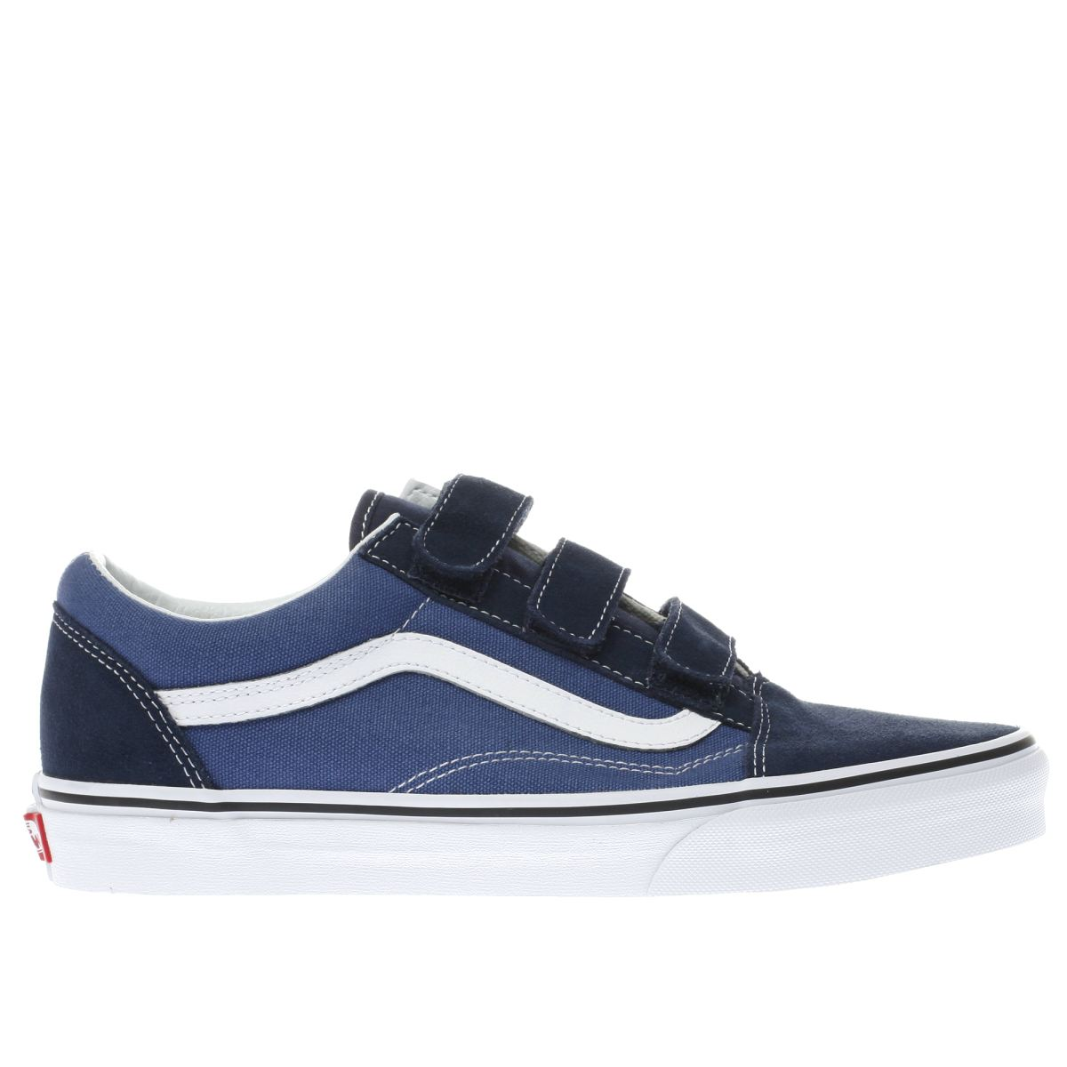 vans navy & black old skool v trainers