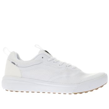Vans White Ultrarange Rapidweld Mens Trainers