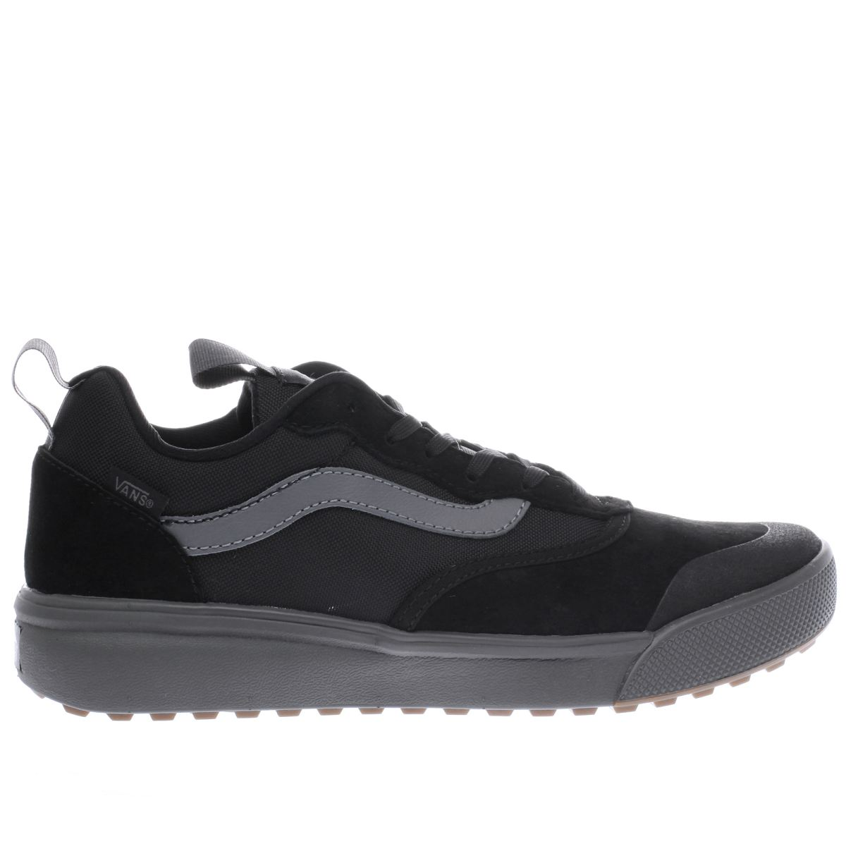 vans black ultrarange trainers