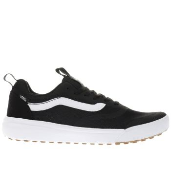 VANS BLACK & WHITE ULTRARANGE RAPIDWELD TRAINERS