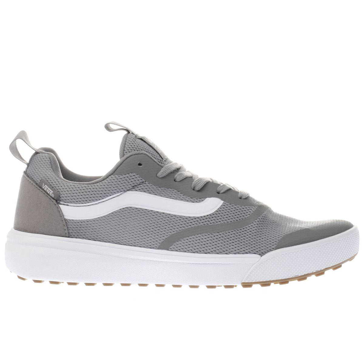 vans grey ultrarange rapidweld trainers