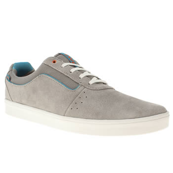 mens vans grey lxvi numeral trainers