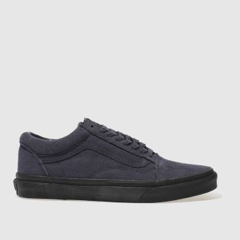 Vans Navy Old Skool Mens Trainers