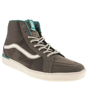 Vans Dark Grey Lxvi Parameter Trainers