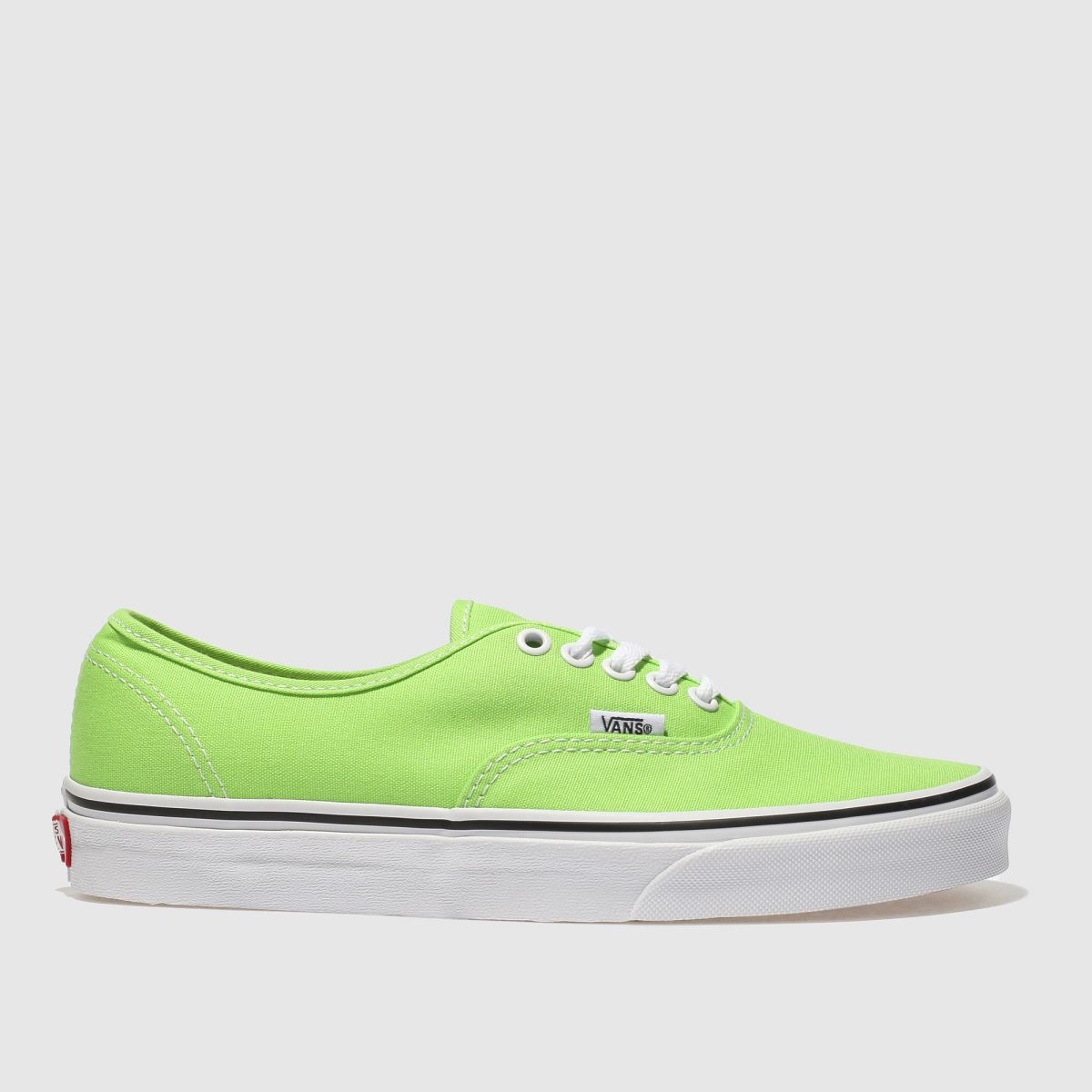 Vans Green Authentic Trainers