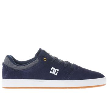 Dc Shoes Navy Crisis Se Mens Trainers