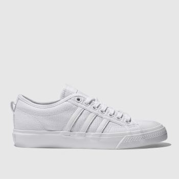 Adidas White Nizza Mens Trainers