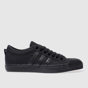 Adidas Black Nizza Mens Trainers