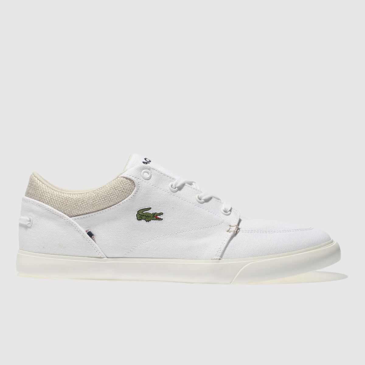 Lacoste White Bayliss Trainers
