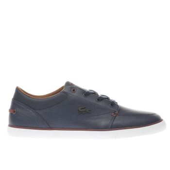 Lacoste Navy Bayliss Vulc Mens Trainers