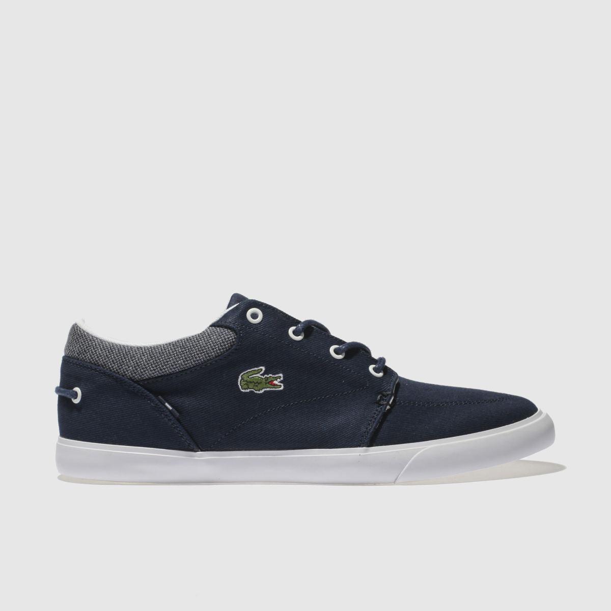 Lacoste Navy & White Bayliss Trainers