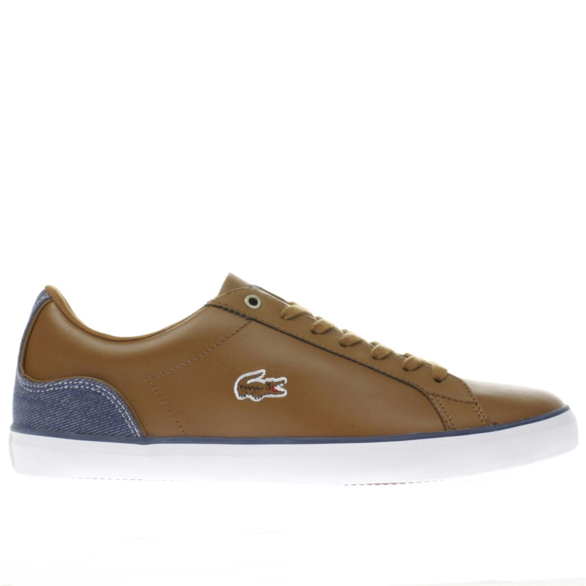 lacoste brown lerond trainers