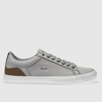 Lacoste Grey Lerond Mens Trainers